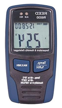 REED Instruments R6030 Temperature and Humidity Datalogger,