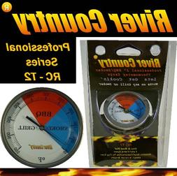 River Country RC-T2 Color Coded Thermometer Barbecue Accesso