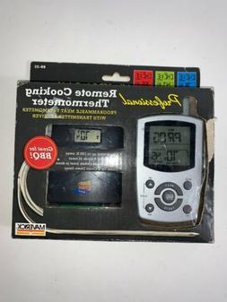 Remote Thermometer w/ Color Changing LCD