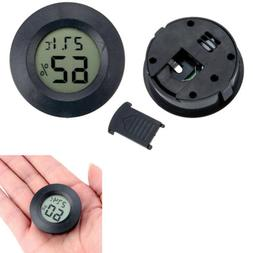 Round LCD Thermometer Digital Hygrometer Temperature Humidit