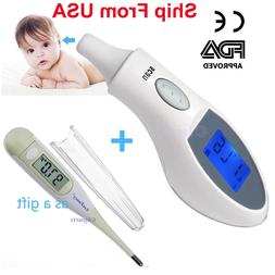 Electronic Digital Thermometer Ir Infrared Ear Underarm Infa