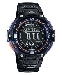 Casio SGW100-2B, Digital Compass, Thermometer, Resin Watch,
