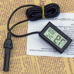 Small Digital LCD Temperature Meter Thermometer Temp Sensor