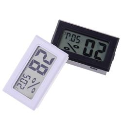 Small size digital lcd thermometer hygrometer humidity temp