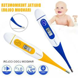 Soft Head Electronic LCD Thermometer Digital Baby Adult Medi
