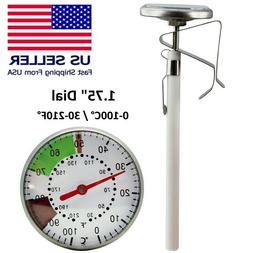 Stainless Steel 210°F Cooking Oven BBQ Milk Meat Food Probe