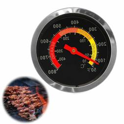 Stainless Steel BBQ Grill Thermometer Temperature Gauge Tool