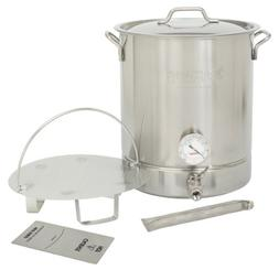 Bayou Classic 800-410, 10-gal Stainless Steel 6 pc. Brew Ket