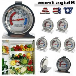 Stainless Steel Dial Thermometer Temperature Gauge for Refri