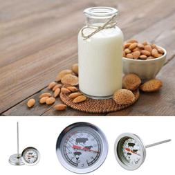 Stainless Steel Instant Read Meat Thermometer with Long Prob