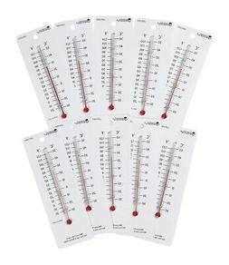 Learning Resources Student Thermometers, Set of 10