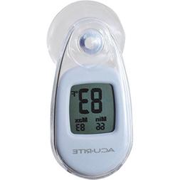 AcuRite Suction Cup Thermometer, White - 00315CADIA1