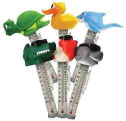 Swimming Pool Spa Hot tub Floating Animal Thermometer Shark