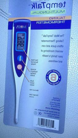 Temp Talk Digital Thermometer Body Mouth 4 visually impaired