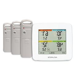 AcuRite 01094M Temperature & Humidity Station with 3 Indoor/