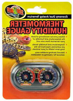 Zoo Med Terrarium Thermometer Humidity Gauge