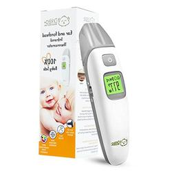 Baby Thermometer - Forehead and Ear Thermometer for Fever by