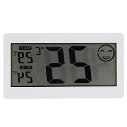 Thermometer, YIFAN LCD Digital Temperature Humidity Meter Th