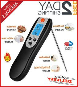 thermometer digital cooking bbq remote meat instant