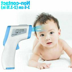 Thermometer Gun Forehead Non Contact Infrared Baby LCD Body