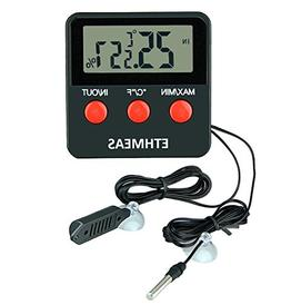 ETHMEAS Digital Thermometer and Hygrometer for Reptiles Terr
