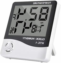 Thermometer Indoor Digital LCD Hygrometer Temperature Humidi