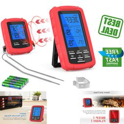 Thermometer Meat Dual Probe Remote Wireless Digital Cooking