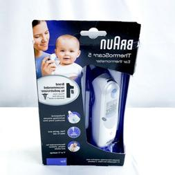 Braun ThermoScan 5 with ExactTemp Ear Thermometer - White