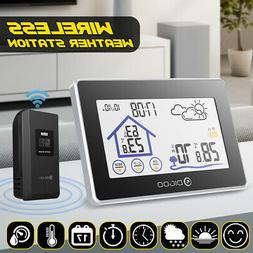 Digoo Touch Wireless Weather Station Thermometer Clock +Outd