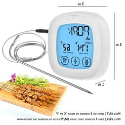 Touchscreen Cooking Food Thermometer Instant Read Function S
