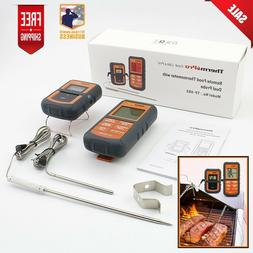 tp 08s wireless remote meat thermometer w