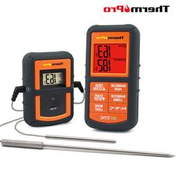ThermoPro TP-08S Wireless Remote Meat Thermometer w Dual Pro
