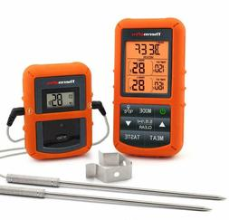 ThermoPro TP-20 Dual Probe Wireless Digital Cooking Thermome