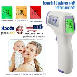 Un-CONTACT Body Thermometer Forehead IR Infrared Laser Digit