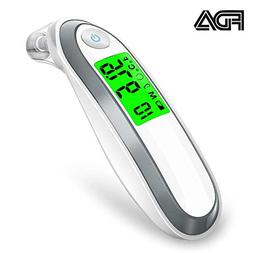 Upgrade Ear and Forehead Thermometer, Digital Medical Infrar