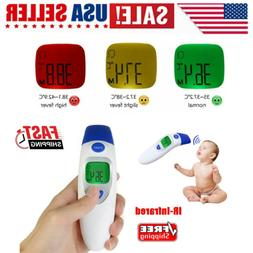 US Forehead and Ear Thermometer for Baby Kids Adults Head Th
