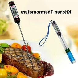 US Kitchen Digital Thermometer For Meat Water Milk Cooking P