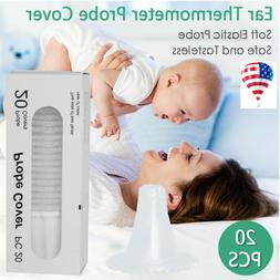 US Reusable Baby Ear Thermometer Cover Replacement Lens Filt