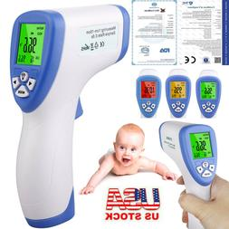 USA IR Infrared Digital Forehead Fever Thermometer Non-Conta