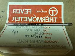 Vintage NOS TERUMO Fever Thermometer Rectal Stubby J26 Mich5