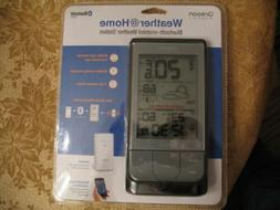 Oregon Scientific Weather @ Home Bluetooth Enabled Weather S