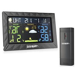 Wellness Personal Care Wired/Wireless Weather Station with T
