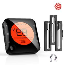 Wireless Bluetooth Meat Thermometer for Grilling,Alarm for S