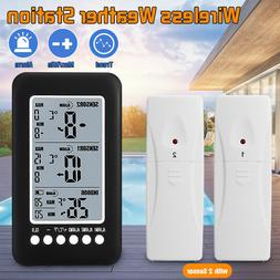 Wireless Digital Freezer Alarm Thermometer LCD screen Indoor