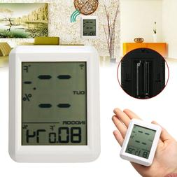 Wireless Indoor Outdoor Thermo-Hygrometer Thermometer Humidi