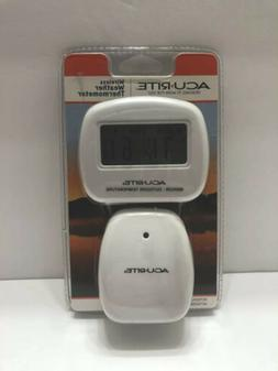 AcuRite Wireless Indoor/Outdoor Thermometer Brand New Free S