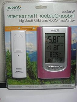Oregon Scientific Wireless Indoor/Outdoor Thermometer with A