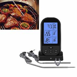 wireless lcd remote dual 2 probe meat