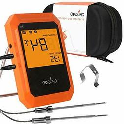 BBQ Meat Thermometer, Bluetooth Remote Cooking Thermometer,