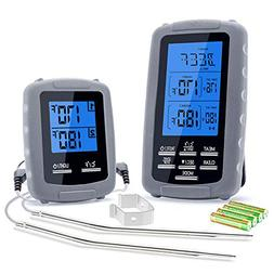 Wireless Meat Thermometer, Remote Digital Barbecue Thermomet